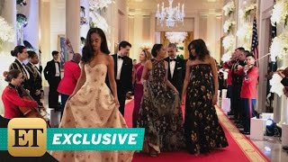 Download EXCLUSIVE: Michelle Obama on Sasha and Malia Attending Their First State Dinner Video