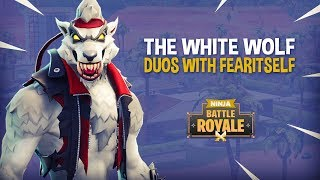 Download The White Wolf!! Fortnite Battle Royale Gameplay - Ninja & FearItSelf Video