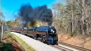 Download N&W 611: The Virginian Chase- 4/8/17 Video