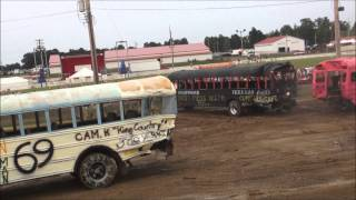 Download School Bus Demolition Derby - 2015 - Big Butler Fair Video