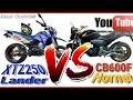 Download YAMAHA XTZ 250 Lander vs CB600F Hornet vs FAZER 250 (Serra de Campos do Jordão) Video