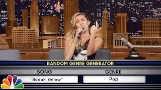 Download Musical Genre Challenge with Miley Cyrus Video