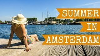 Download Summer in Amsterdam, Holland the Netherlands in Full HD - 2015 Video