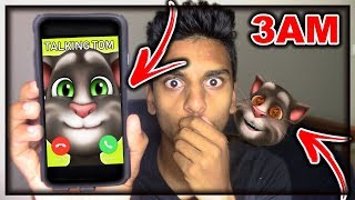 Download DO NOT CALL TALKING TOM AT 3AM!! *THIS IS WHY* OMG TALKING TOM CAME TO MY HOUSE AT 3AM!! Video