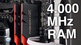 Download Was bringt schneller RAM? 4.000 MHz+? Video