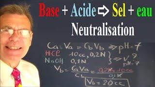 Download Chimie acide base : Initiation à la neutralisation acido basique Video