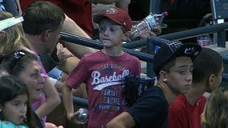 Download Kid misses ball, another gives him souvenir Video