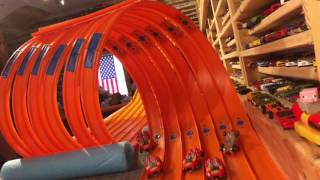 Download HOT WHEELS SUPER 6 LANE SUPER LOOP ″Test and Tune″ Video