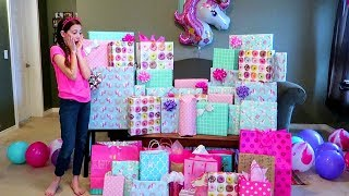 Download Birthday Morning Opening Presents! Sadie's 11th Birthday! Video