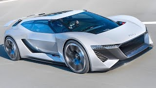 Download Audi Electric Shooting Brake + Race Car Combined Allan McNish New Audi e-tron 2019 Video