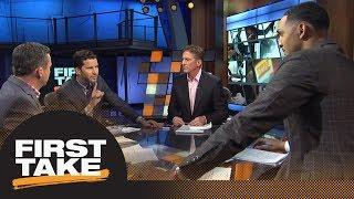 Download First Take reacts to Spurs trading Kawhi Leonard to Raptors for DeMar DeRozan   First Take   ESPN Video