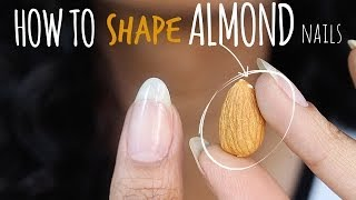 Download SHAPE PERFECT ALMOND NAILS | abetweene Video
