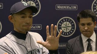 Download Ichiro Suzuki announces his retirement Video