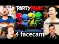 Download YOUTUBERLER PARTİDE!   4 FACECAM PARTY PANIC Video