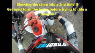 Download How to ride a Manual Quad or ATV (Honda 250ex & TRX400ex shown) Video