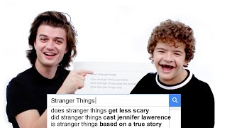 Download Stranger Things Cast Answer the Web's Most Searched Questions | WIRED Video