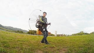 Download Paramotor Freestyle : Gliding Video