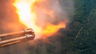 Download LEGENDARY AC-130 IN ACTION • SPOOKY GUNSHIP FIRING • CANNONS & GATTLING GUN LIVE FIRE Video