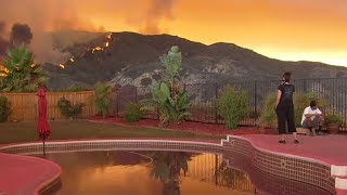 Download California's Holy Fire threatens thousands of homes Video