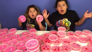 Download DIY SLIME VALENTINES FOR SCHOOL - MAKING 2 GALLONS OF FLUFFY SLIME FOR SCHOOL Video