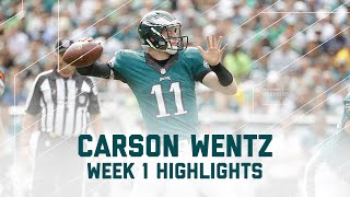 Download Every Carson Wentz Completion| Browns vs. Eagles | NFL Week 1 Player Highlights Video