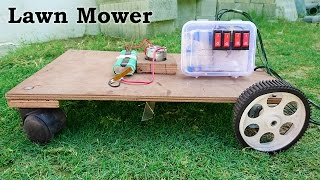 Download How to Make a Lawn Mower / Grass Cutter at Home Video