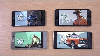 Download iPhone 8 Plus vs Note 8 vs Nokia 8 vs Xperia XZ Premium - Gaming Comparison! Video