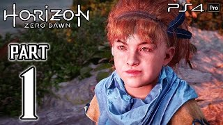 Download Horizon Zero Dawn Walkthrough PART 1 (PS4 Pro) No Commentary Gameplay @ 1080p HD ✔ Video