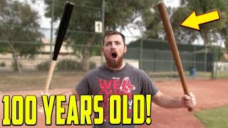 Download The 100 Year Old Baseball Bat Challenge! Video