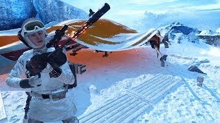 Download ✔ Star Wars Battlefront Survival Mode: Hoth Ice caves - Gameplay Video