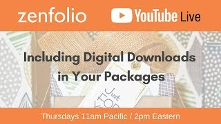 Download How to include Digital Downloads in your packages - Zenfolio Live April 19th 2018 Video