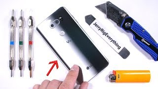 Download LG V30 Durability Test! - Scratch, BURN, and BEND tested! Video