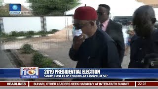 Download South East PDP Frowns At Choice Of VP 13/10/18 Pt.2 |News@10| Video
