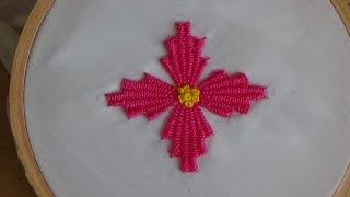 Download Hand Embroidery: Kadai kamal Stitch (Flowers) Video