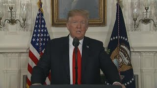 Download President Trump offers DACA protection for border wall deal: full speech on January 19, 2019 Video