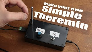 Download Make your own Simple Theremin Video