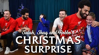 Download Salah, Shaqiri and Robbo's festive surprise for local school pupils   PRICELESS REACTIONS Video