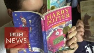 Download The man who discovered Harry Potter - BBC News Video