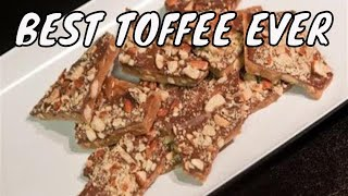 Download homemade almond toffee with chocolate - Part 1 Video