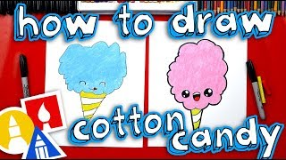 Download How To Draw Cartoon Cotton Candy Video