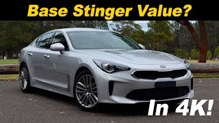 Download 2018 Kia Stinger 2.0T Base Model First Drive Review Video