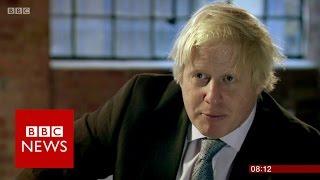 Download Why did Boris Johnson back Brexit? BBC News Video
