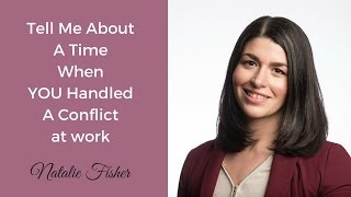 Download 👊 Interview Question | A Time You Had a Conflict at Work. Workplace Conflict. Video