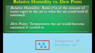 Download Humidity vs Dew Points: What's the Difference? Video
