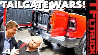 Download Ram vs GMC vs Ford vs Honda: What's the Best Fancy New Tailgate? No, You're Wrong! Ep.4 Video