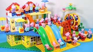 Download Peppa Pig Lego House Creations With Water Slide Toys For Kids #15 Video