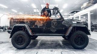 Download CUTTING THE ROOF OF MY 250 000€ G WAGON!   VLOG² 120 Video