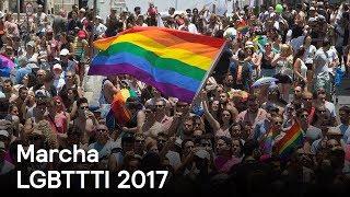 Download Miles marchan en defensa del orgullo LGBTTTI en México y en el mundo - Despierta con Loret Video