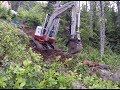 Download Blazing New Trails with Mini Excavator - Off Grid Cabin - Part 1 Video