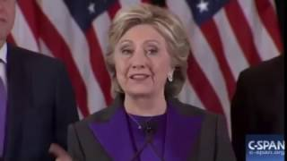 Download Hillary Clinton Delivers Concession Speech: 'I Am Sorry That We Did Not Win' 11/9/16 Video